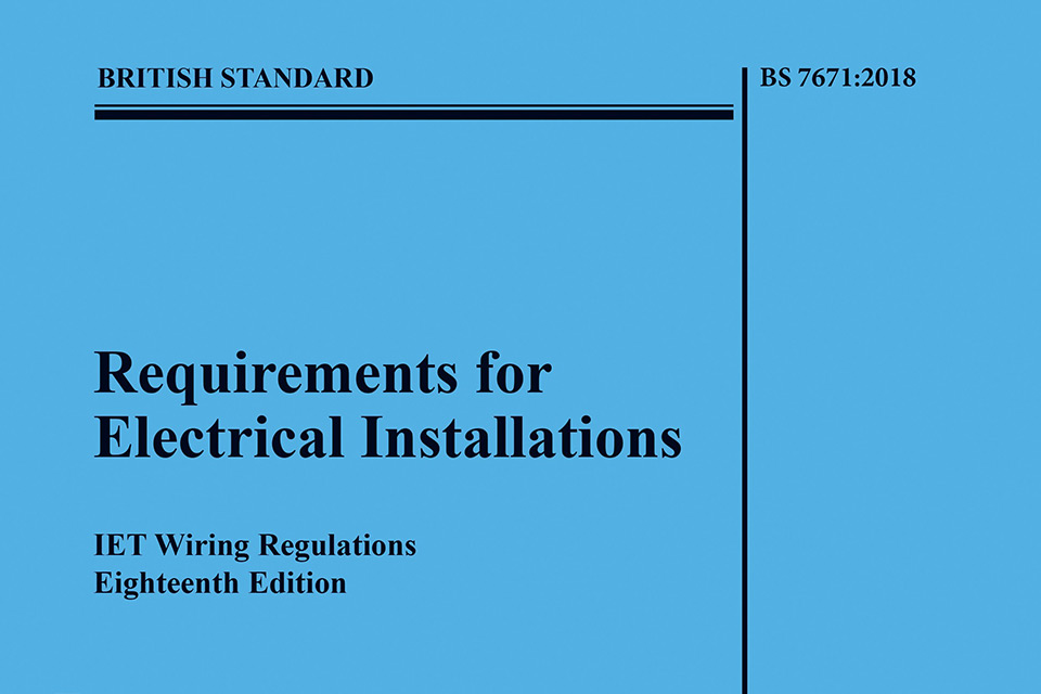 Cool Are You Ready For The 18Th Edition Wiring Regulations Bs7671 2018 Wiring Cloud Nuvitbieswglorg